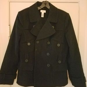 Ann Taylor Peacoat size 6